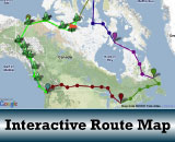 Interactive Route Map